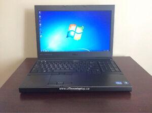 Dell Precision M4700 Quad Core i7 Laptop, Webcam & 90 Day Wty