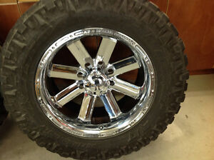 Incubus recoil 8 bolt rims and tires