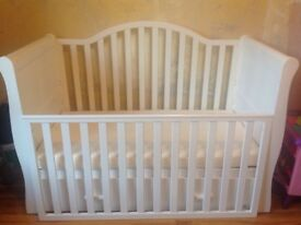 VIb baby/ toddler sleigh bed