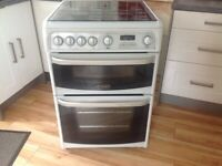 Cannon 'Carrick' Double oven gas cooker