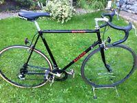 Retro Raleigh record road bike