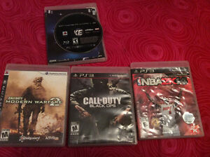 PS3 games for sale only $5-$10