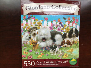 NEW (IN UNOPENED BOX) 550 pc. puzzle 'SHAGGY & FRIENDS'
