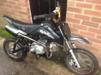 Pitbike looking to swap