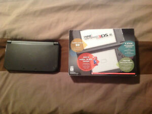 Nintendo 3DS XL with charger