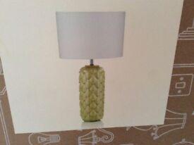 NEW BOXED HAVANA TABLE LAMP