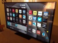 LUXOR 55 inch Smart FULL HD 1080p LED TV, built in WiFi,Freeview HD