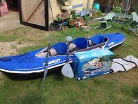 Sevylor Hudson 3 man kayak for sale