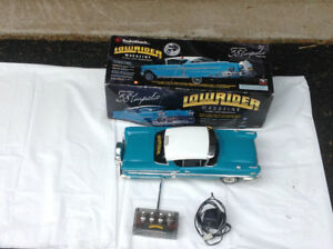 Radio contolled 1958 Impala (low rider) model car