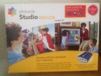 Pinnacle studio 500 USB version ten video edit kit