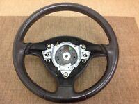 Mk4 Golf Leather Steering Wheel