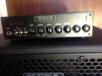 Mesa Boogie D800 bass amp+Cab