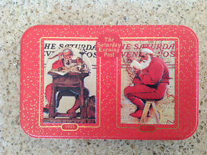 """Norman Rockwell """"Nostalgic"""" Playing Cards"""