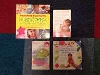Baby and Toddler Weaning/Food/ Recipe Books by Annabel Karmel and Gina Ford