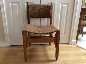 Solid Oak Kitchen chairs