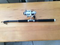 Nice Telescopic Fishing Rod plus Reel