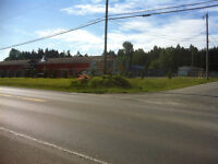 Commerc. prime location for lease, Coombs-Parksville Area