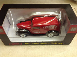 Collectable 1940 Lennox Ford Sedan Delivery Truck 1:24