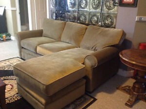 Comfortable Sofa with Chaise