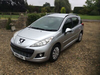 Peugeot 207 SW 1.6HDi 92 Turbo Diesel, 2012MY Active
