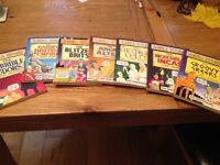 Set of 7 Horrible Histories Books