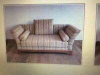 Three seater chair and single chair for sale