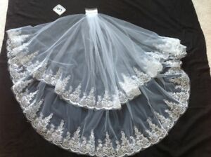 Brand new wedding bridal veils    White