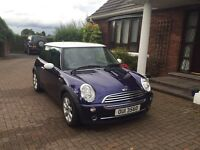 Mini Cooper, 2005, 3 door, 1.6 litre petrol, 91,000 miles requires attention