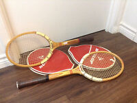 Set of 2 Tennis Rackets Dunlop Maxply