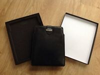NEW LOWER PRICE - Brand new leather iPad sleeve in gift box