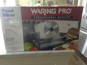 WARING PRO Professional Quality Food Slicer $40.00