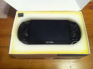 PS Vita Slim, Barely used, Includes 8 g Memory Card & charger!