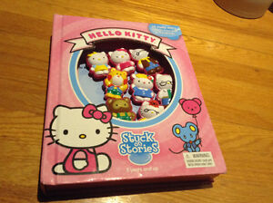 Hello Kitty stuck on stories suction cups and storybook