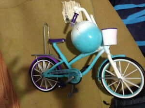"""Bicycle with Helmet for 18"""" dolls for sale London Ontario image 1"""