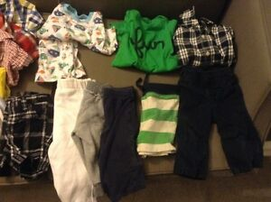 Box of boy's 6-12 months spring/summer clothes Kitchener / Waterloo Kitchener Area image 3