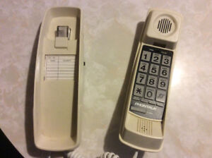 Corded phone with extra big numbers