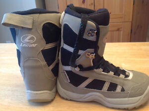 Sz 5 mens (37 european, 23.5 UK) snowboard boots