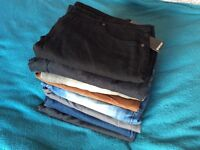 JOB LOT 8 pairs of men's size 40 jeans and trousers