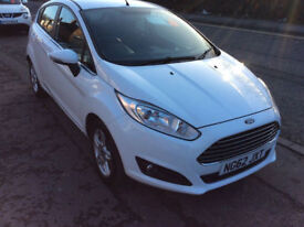 FORD FIESETA 1.0 ZETEC 5 DOOR ZERO ROAD TAX NEW SHAPE 49,000 MILES ALLOYS 2013