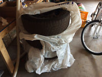 Tires and rims 5 bolt 215 70 16