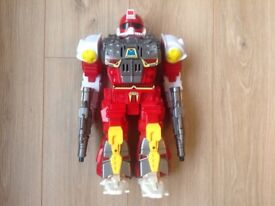 battery operated galaxy robot ranger 14 ins