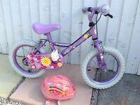 Little Girls Apollo Sweetpea Bike / Bicycle