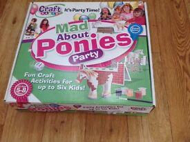 New pony set