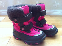 Toddler girls winter boots size 5