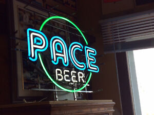 Pace Beer Neon Light Sign