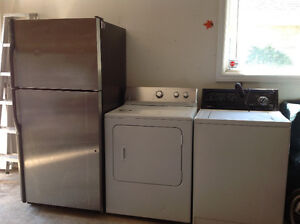 Stainless kenmore fridge for sell excellent condition