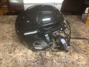 Warrior hockey/lacrosse helmet