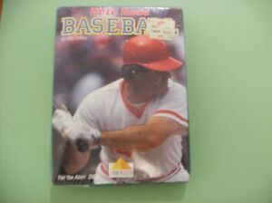 ATARI 2600 pete rose baseball GAME