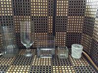 Wedding vases and votives