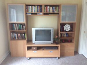 Ikea Wall Unit with TV stand
